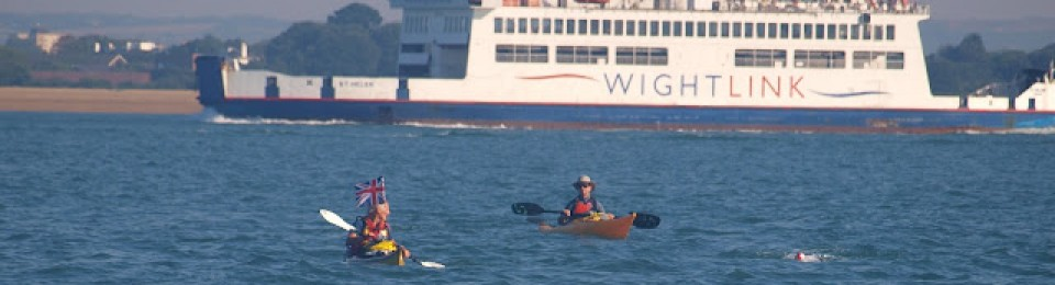 Charity swim to the Isle of Wight